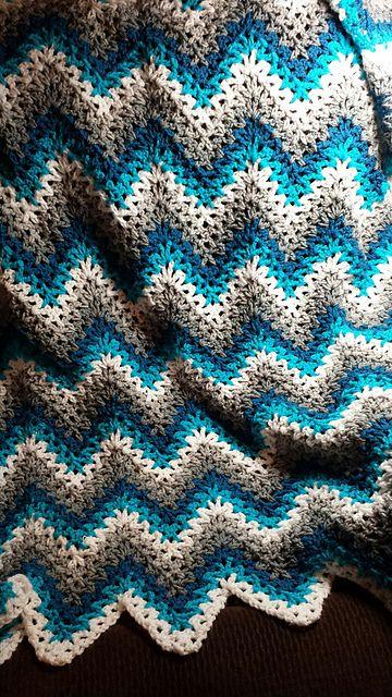 Crochet Blanket Patterns cool crochet blanket patterns easy [easy] v-stitch crochet ripple . giqhskj